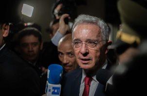 El expresidente de Colombia, Álvaro Uribe Vélez