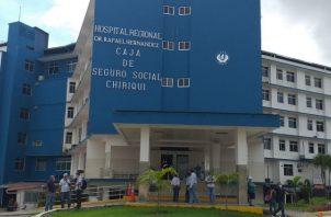Las autoridades del Hospital Rafael Hernández efectuaron una reunión con la directora del Mides en Chiriquí, la Dirección de Cedulación y la Alcaldía de David, en que les comunicaron del problema. Foto: José Vásquez