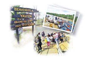 Piraguas cargadas de productos y el calor humano, caracterizan la provincia de Darién. Foto: Luis Ávila