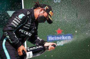 Lewis Hamilton lidera el Mundial de Fórmula Uno. Foto: EFE