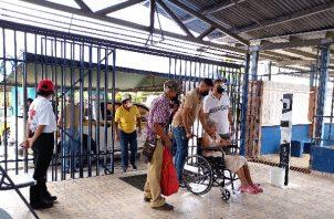 La próxima semana iniciará la aplicación de la segunda dosis de la vacuna contra la covid-19 a la población del distrito de Arraiján. Foto: Eric Montenegro