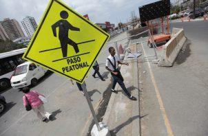 La falta de señalización en Panamá es uno de los mayores problemas en el tránsito. Foto: Cortesía
