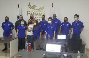 Jugadores panameños. Foto:Cortesía