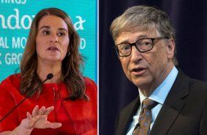 Melinda y Bill Gates. EFE