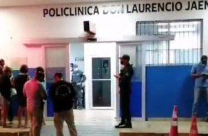 Los familiares de la bebé habían ido de vista al área desde Panamá. Foto: Diomedes Sánchez