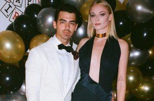 Joe Jonas y Sophie Turner. Instagram