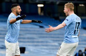 El Manchester City volverá a una final continental luego de 51 años. Foto: EFE