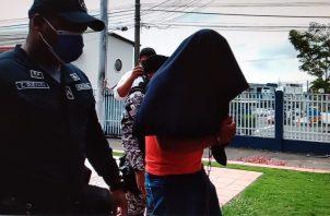 """""""Lince"""" fue aprehendido en operativo del Ministerio Público (MP), DIJ y Policía Nacional. Foto: Eric A. Montenegro"""