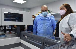 Enrique Lau solicitó a la población mantener las medidas de bioseguridad. Foto: Cortesía CSS