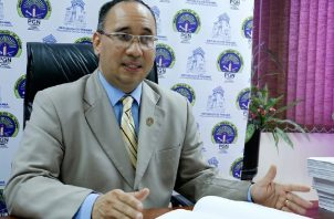 El fiscal Aurelio Vásquez representó al MP en la audiencia de ayer. Foto: Archivo