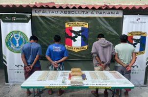 Los detenidos fueron puestos a orden de la autoridad correspondiente. Foto: Cortesía