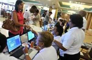 Mitradel estima reactivar el 94% de los empleos para el mes de octubre. Foto: Archivo