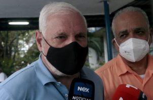 El expresidente Ricardo Martinelli se refirió también a los decomisos de drogas que se han hecho en Panamá.