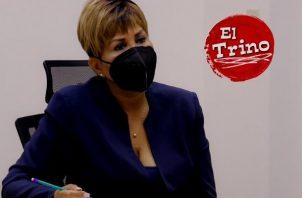 Gobernadora de Colón, Irasema De Dales pide que también se resalte las cosas buenas que pasan en la provincia. Foto: Cortesía