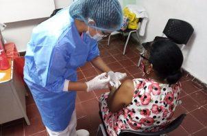 La vacunación contra la covid-19 en Panamá se inició el 20 de enero de 2021. Foto: Cortesía CSS