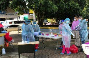 Desde que inició la pandemia a la fecha la provincia de Chiriquí registra un total de 43,024 casos acumulados y 703 personas han perdido la vida. Foto: José Vásquez