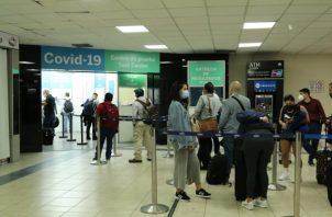 Operación en el Aeropuerto Internacional de Tocumen.