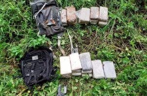 La droga era transportada en dos maletines. Foto: Diomedes Sánchez S.