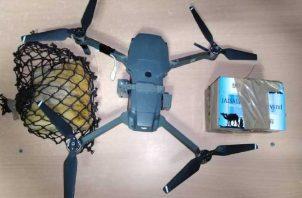 Artefacto decomisado la noche del lunes, en la cárcel La Joya. Foto: Cortesía Mingob