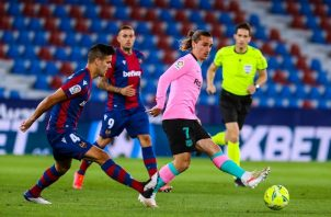 El Barcelona buscó el gol que le diera la victoria pero se topó con un rival bien ordenado en defensa. Foto: Twitter