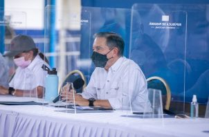 Laurentino Cortizo recordó que Panamá aún no le ha ganado la batalla al coronavirus. Foto: Cortesía @NitoCortizo