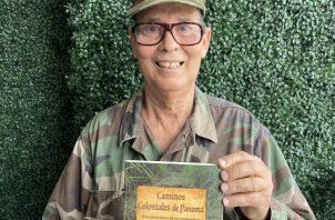 Luis Alfonso Puleio Cervera busca incentivar a los lectores a imbuirse en conocimientos historiográficos aún poco conocidos y sin comprobación de campo. Foto: Cortesía