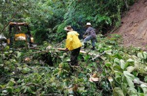 Huracanes Iota y Eta causaron muchos daños en Panamá.