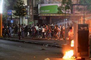Grupos de ciudadanos árabes y judíos de Israel se enfrentaron. EFE