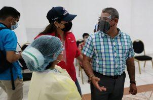 El ministro Luis Sucre dijo que las medidas de restricción se tomaron por el bien de los chiricanos. Foto: Cortesía Minsa