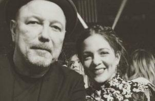 Rubén Blades y Natalia Lafourcade. Foto: Instagram
