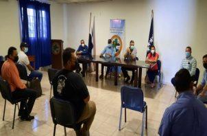 Los empresarios veragüenses solicitaron a las autoridades que se agilice el proceso de vacunación. Foto: Melquiades Vásquez