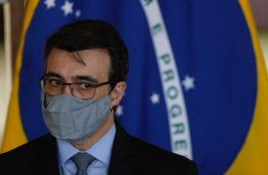 En la imagen, la canciller de Brasil, Carlos França.
