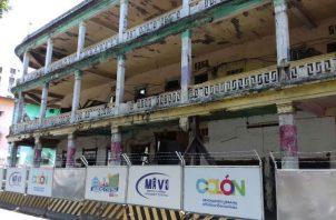 La Spia solicitó el Manual de Estructuras para Colón e iniciar los trabajos que permitan el rescate de los edificios que requieren conservarse. Foto: Archivos