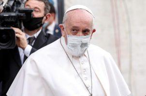 El papa Francisco este viernes en Roma.