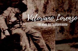 Panamá recuerda los 118 años del fusilamiento de Victoriano Lorenzo. Foto: Archivos