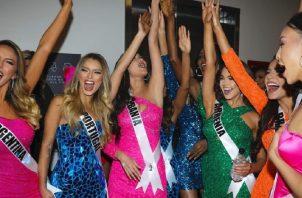 El Miss Universo será esta noche.