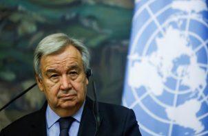 El secretario general de la ONU, António Guterres. EFE