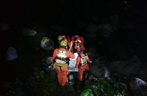 Las autoridades informaron que el cuerpo de la víctima se encontraba en estado de descomposición y sin documentos.Foto: Mayra Madrid