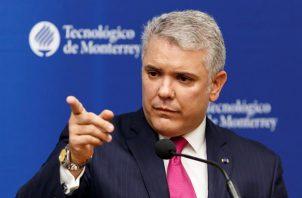 El presidente de Colombia, Iván Duque. EFE