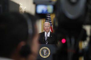 En la imagen el el presidente de EE.UU., Joe Biden.
