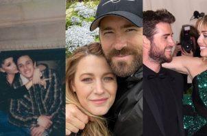 Famosos que se han casado en ceremonias íntimas y secretas. Fotos: Instagram