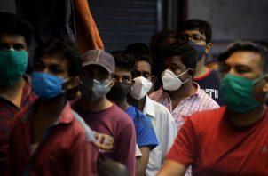 La India supera los 25 millones de casos de coronavirus. Foto: EFE