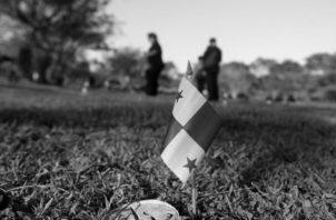 Se propusieron olvidar a los panameños que ofrecieron sus vidas enfrentándose a la dictadura militar. Foto: EFE.