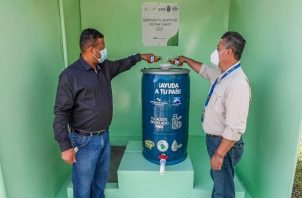 El programa es de reciclaje y reutilización del aceite de cocina. Cortesía: Saneamiento de Panamá