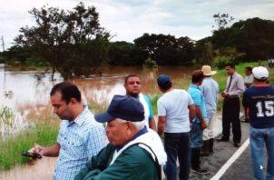 El hallazgo lo hicieron residentes de la comunidad de Alto Ortiga, en la orilla del río Ortiga. Foto: Melquiades Vásquez