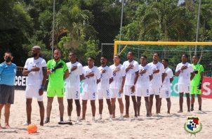 Selección de fútbol playa de Panamá. Foto:Fepafut