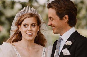 Princesa Beatrice y Edoardo Mapelli Mozzi. Foto: Archivo