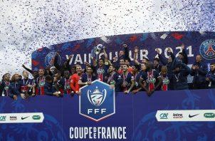 El Paris Saint-Germain (PSG) conquistó su décimo-cuarta Copa de Francia. Foto: EFE