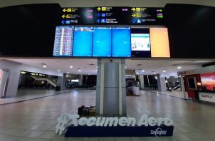 En el aeropuerto de Tocumen se mantienen los controles epidemiológicos para detectar posibles casos de covid-19. Foto: Cortesía @tocumenaero