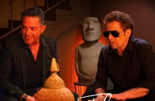 Alejandro Sanz y Andrés Calamaro. Foto: Cortesía